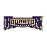 Medium Decal-Houghton Highlanders, 8 inches wide