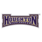 Large Decal-Houghton Highlanders, 12 inches wide