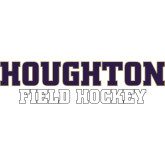 Small Decal-Field Hockey, 6 inches wide