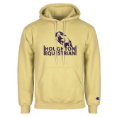 Champion Vegas Gold Fleece Hoodie-Houghton Equestrian Jumping Horse
