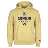 Champion Vegas Gold Fleece Hoodie-Soccer Design 1