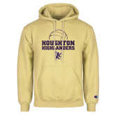 Champion Vegas Gold Fleece Hoodie-Volleyball Design