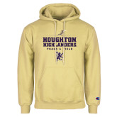Champion Vegas Gold Fleece Hoodie-Track and Field Design 1