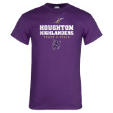 Purple T Shirt-Track and Field Design 1