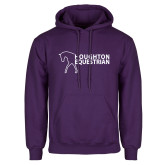 Purple Fleece Hoodie-Houghton Equestrian Walking Horse