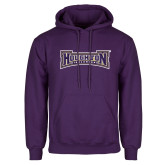 Purple Fleece Hoodie-Houghton Highlanders