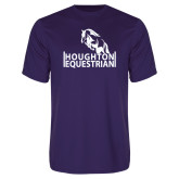 Performance Purple Tee-Houghton Equestrian Jumping Horse
