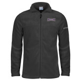 Columbia Full Zip Charcoal Fleece Jacket-Houghton Highlanders
