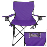 Deluxe Purple Captains Chair-Houghton Highlanders
