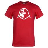 Red T Shirt-Hawk Head