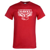 Red T Shirt-Primary Distressed