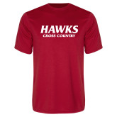 Performance Red Tee-Hawks Cross Country