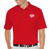 Callaway Opti Dri Red Chev Polo-Primary Mark