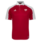 Adidas Modern Red Varsity Polo-Primary Mark