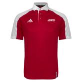 Adidas Modern Red Varsity Polo-Secondary Logo