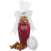 Deluxe Nut Medley Vacuum Insulated Red Tumbler-Primary Mark  Engraved