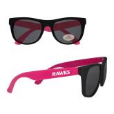 Black/Hot Pink Sunglasses-Hawks