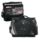 Slope Black/Grey Compu Messenger Bag-Hospice of Virginia