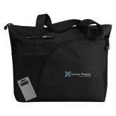 Excel Black Sport Utility Tote-Serenity Hospice