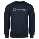 Navy Fleece Crew-Hospice Partners of America