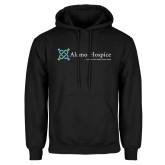 Black Fleece Hoodie-Alamo Hospice - Tagline