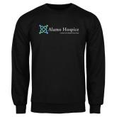 Black Fleece Crew-Alamo Hospice - Tagline