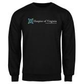 Black Fleece Crew-Hospice of Virginia - Tagline