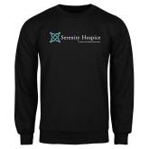 Black Fleece Crew-Serenity Hospice - Tagline