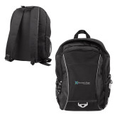 Atlas Black Computer Backpack-Harrisons Hope