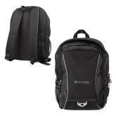 Atlas Black Computer Backpack-Hospice of Virginia
