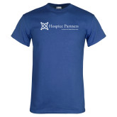Royal T Shirt-Hospice Partners - Tagline