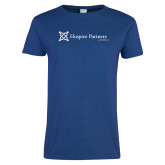 Ladies Royal T Shirt-Hospice Partners of America