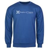 Royal Fleece Crew-Hospice of Virginia - Tagline