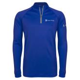 Under Armour Royal Tech 1/4 Zip Performance Shirt-Hospice Partners