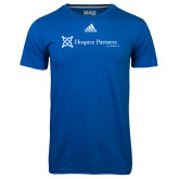 Adidas Climalite Royal Ultimate Performance Tee-Hospice Partners of America