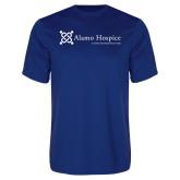 Performance Royal Tee-Alamo Hospice - Tagline