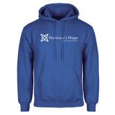 Royal Fleece Hoodie-Harrisons Hope - Tagline