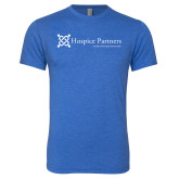 Next Level Vintage Royal Tri Blend Crew-Hospice Partners - Tagline