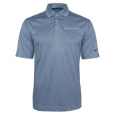 Nike Golf Dri Fit Navy Heather Polo-Serenity Hospice