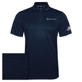 Adidas Climalite Navy Grind Polo-Hospice Partners