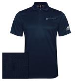 Adidas Climalite Navy Grind Polo-Hospice of Virgina