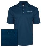 Nike Dri Fit Navy Pebble Texture Sport Shirt-Hospice of Virgina