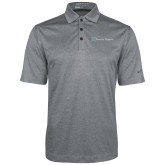 Nike Golf Dri Fit Charcoal Heather Polo-Serenity Hospice