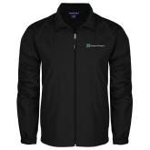 Full Zip Black Wind Jacket-Serenity Hospice