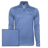 Nike Sphere Dry 1/4 Zip Light Blue Pullover-Hospice of Virgina