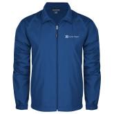 Full Zip Royal Wind Jacket-Serenity Hospice