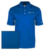 Nike Dri Fit Royal Pebble Texture Sport Shirt-Hospice Partners