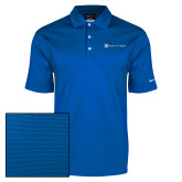 Nike Dri Fit Royal Pebble Texture Sport Shirt-Hospice of Virgina
