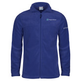 Columbia Full Zip Royal Fleece Jacket-Hospice Partners