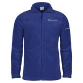 Columbia Full Zip Royal Fleece Jacket-Alamo Hospice